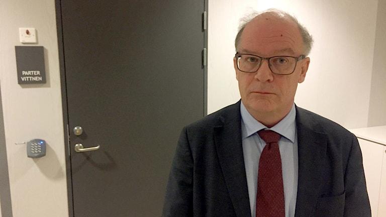 Arbetsmiljöåklagare Stig Andersson.
