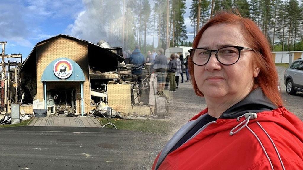 Berina Delic, anställd på Polarbröd.