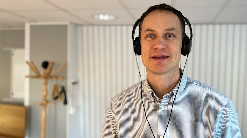 Arne Nykänen, biträdande professor i Teknisk Akustik vid LTU.