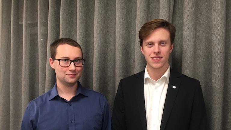Emil Fresk och Kristoffer Ödmark, Widefind AB
