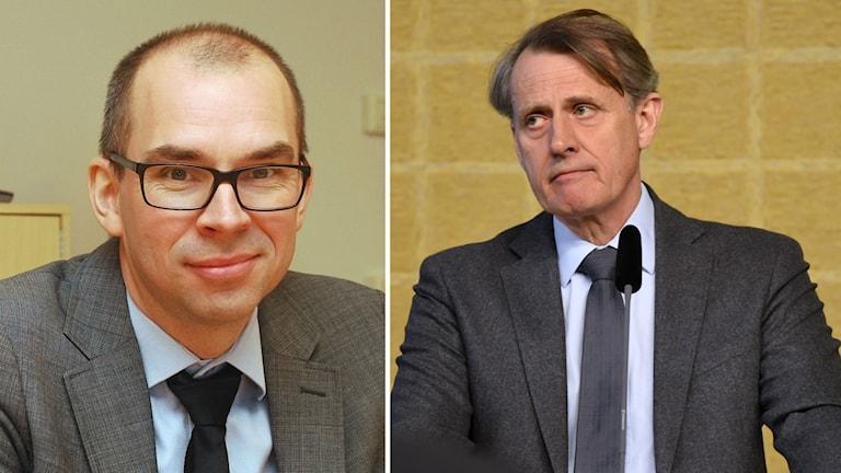 Niklas Nordström och Anders Sundström.