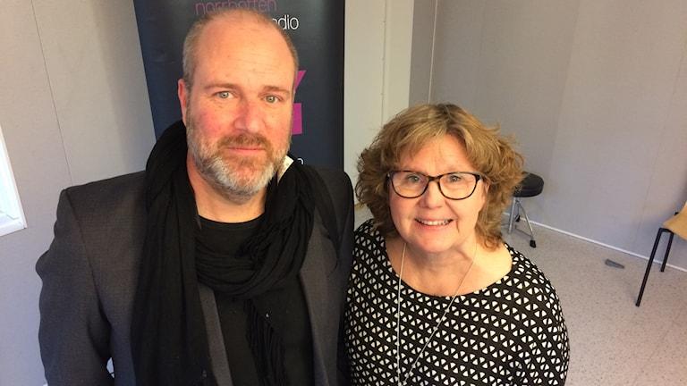 Mattias Nihlgård och Lisbeth Gustafsson.