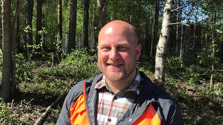 Alexander Winiger, rovdjurshandläggare på länsstyrelsen.