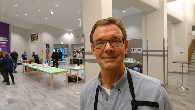 Håkan Stenmark på matmötet i Luleå energi arena.
