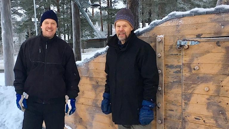 Mikael och Valter Lind