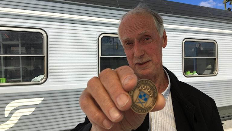 Sture Nilsson, veteran från Boden