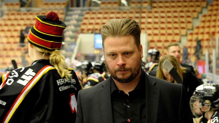 Tränare Fredrik Glader Luleå/MSSK.