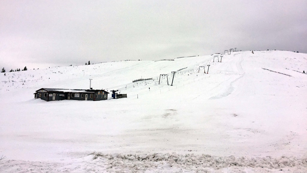 Skidanläggningen Vittjåkk, utanför Arvidsjaur.