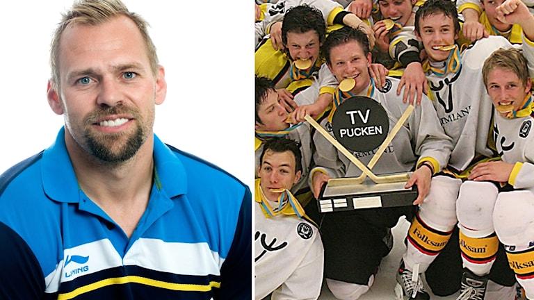 Tomas Holmström och Värmlands som vann TV-pucken 2005