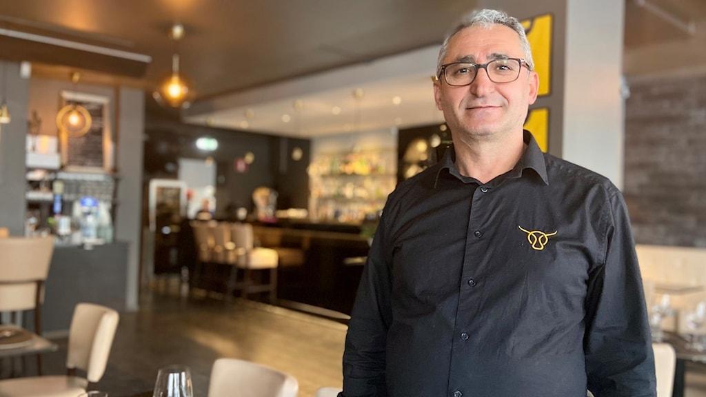 Restaurangchefen Ali Celebi i Piteå.