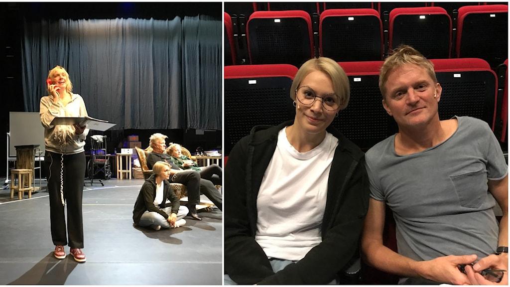 Maria Pontén och Martin Sundbom