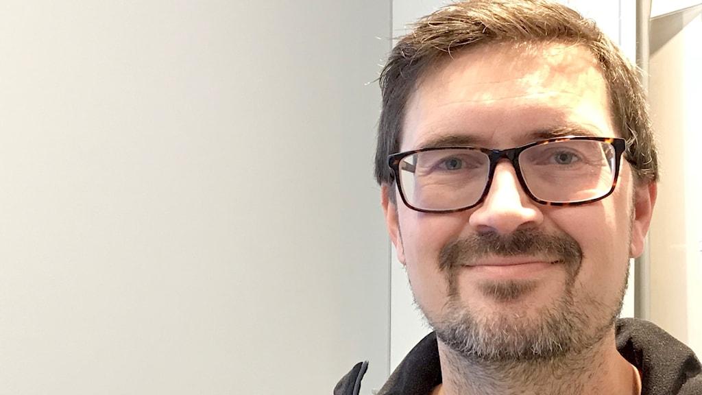 Henrik Viklands, miljösamordnare på Vattenfall.