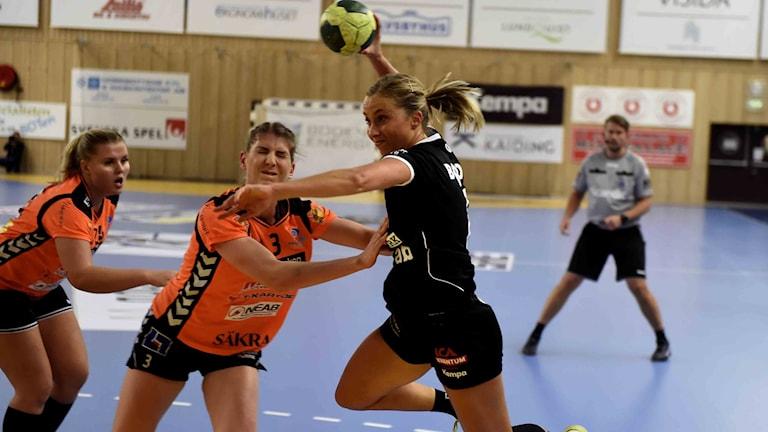 Boden Hanbolls Emmy Nordmark mot Kristianstad HK i SHE.