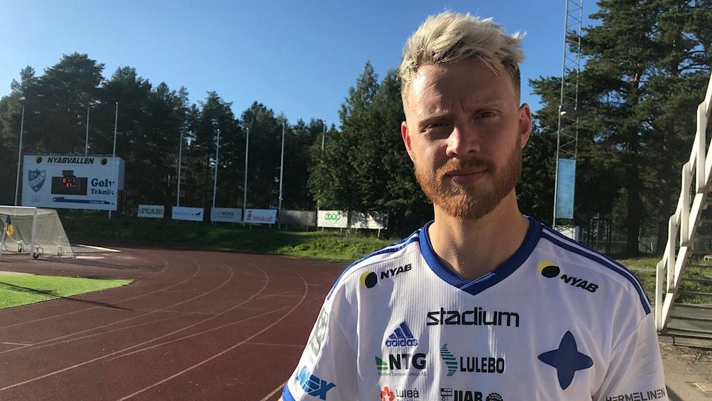 IFK Luleå spelaren William Olausson. (Arkivbild)