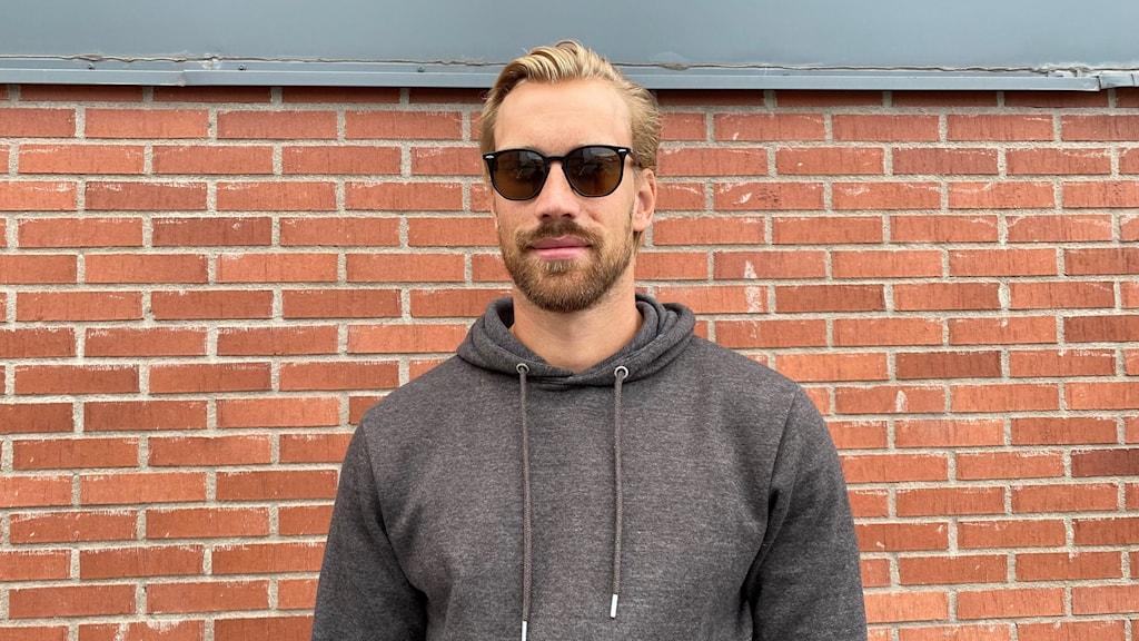 Hockeyspelaren Anders Nilsson.
