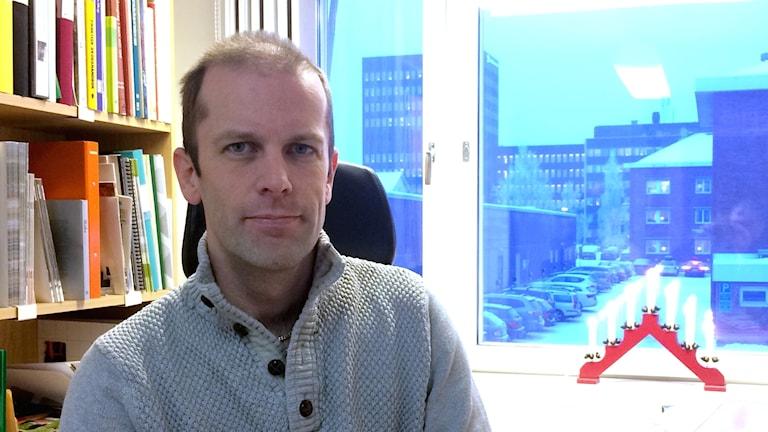 Anders Lindkvist, skogskonsulent på Skogsstyrelsen.