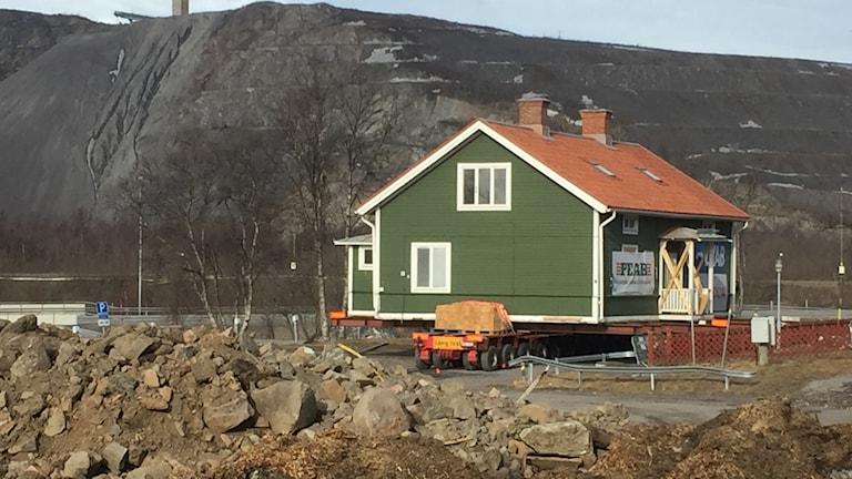 Kulturhus flyttas i Kiruna