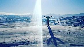 Vårvinter i Kiruna