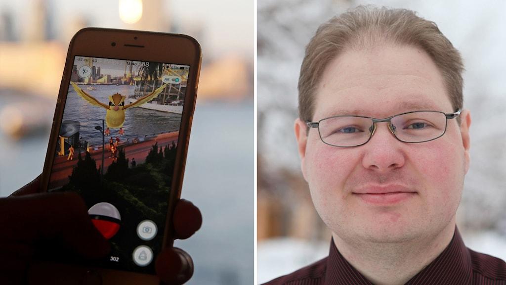 Josef Hallberg, LTU, Pokemon GO