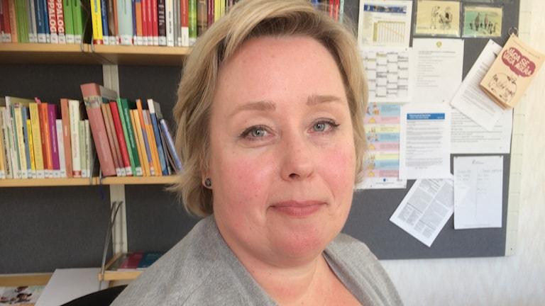 Linda-Mari Nordsvan, psykolog för barn i åldrarna 6-18 år inom länets primärvård