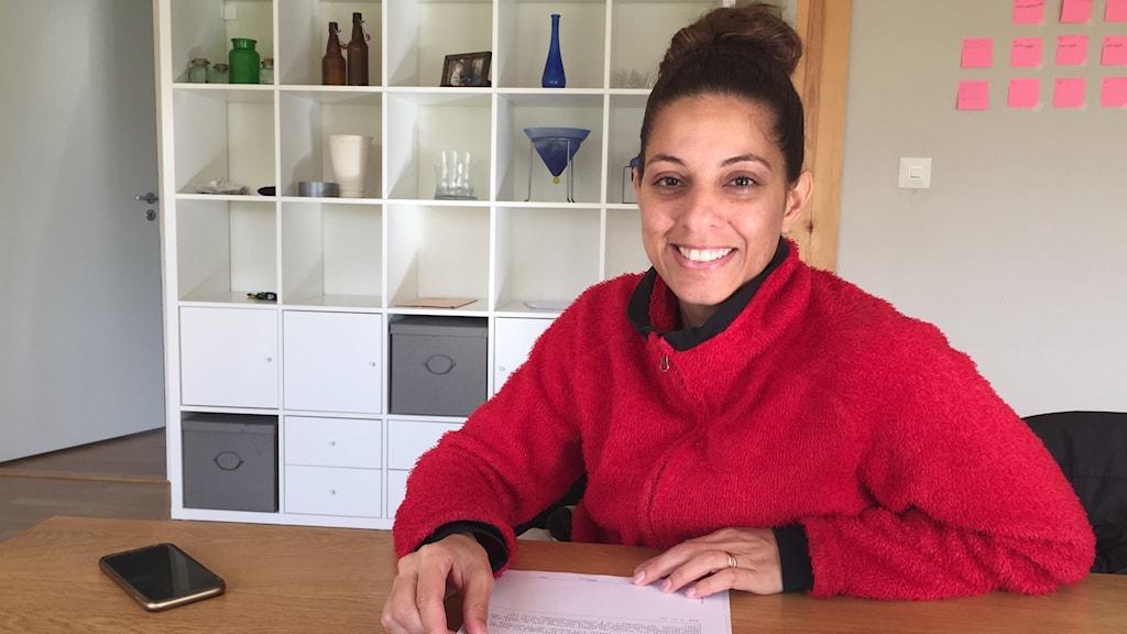 Naila Sheer från Kenya fick en ny födelsedag i sitt svenska personnummer.