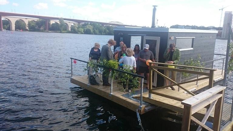 Bastuflotten i Stockholm