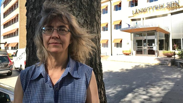 Lena Bondestad, naturvårdshandläggare på Länsstyrelsen.