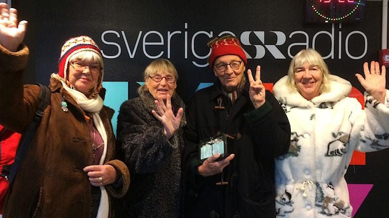 Ellinor Wickenberg, Ann-Marie Westberg, Gunnar Westberg och Ida Ek.
