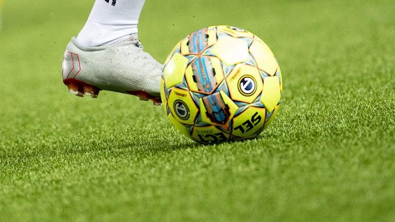Fotboll sparkas