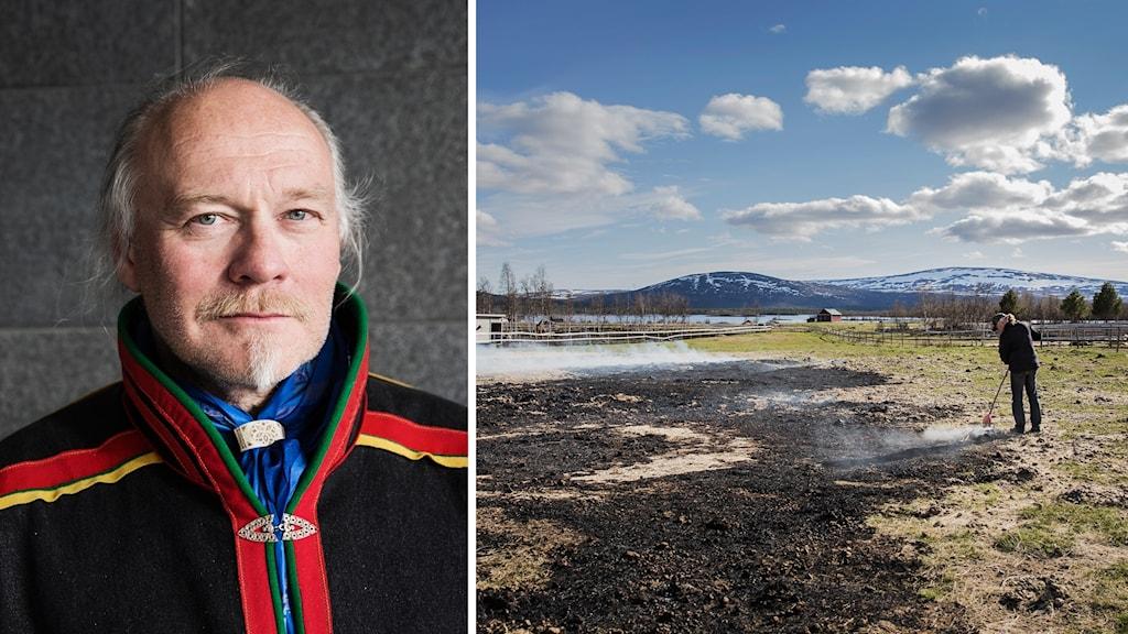 Girjas ordförande Matti Berg är nöjd med domen.