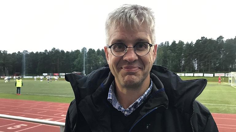 Henrik Luttu, ordförande för tävlings komittén på Norrbottens fotbollsförbund