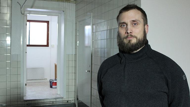 Kent Andersson är en av flera Kirunabor som satsar på ett mikrobryggeri.