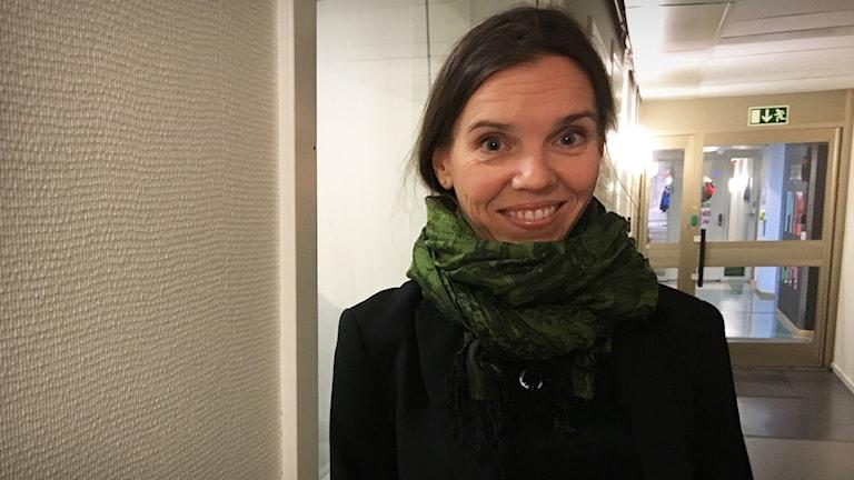 Karolina Parding, professor i sociologi