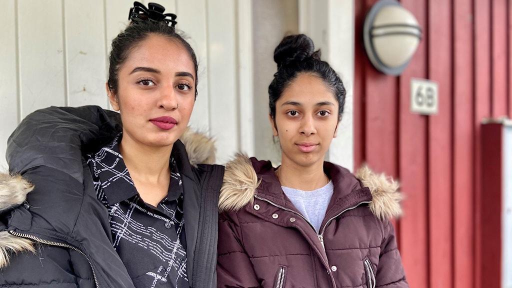 Systrarna Maryam och Zahra