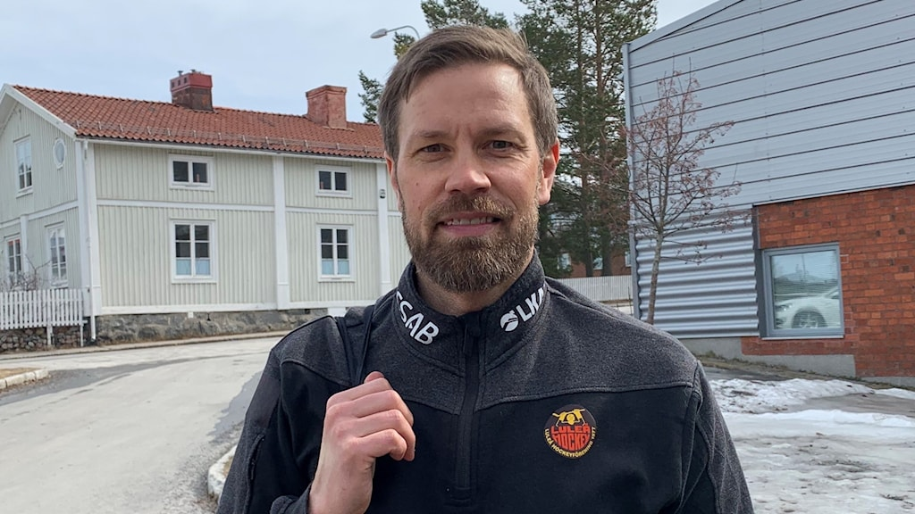 Petter Pettersson, fystränare för Luleå Hockey.