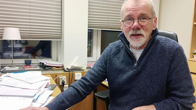 Per-Erik Baas, verksamhetsstrateg på Kiruna socialförvaltning.