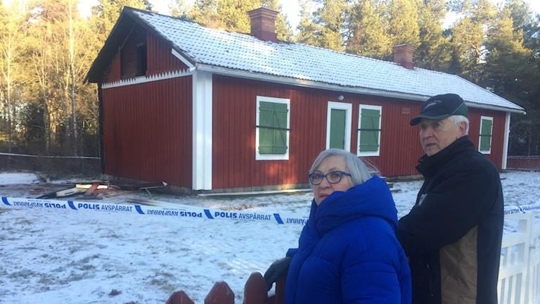 Ann-Helen Mickelsson och Sture Köhler, Gällivare sockens hembygdsförening.