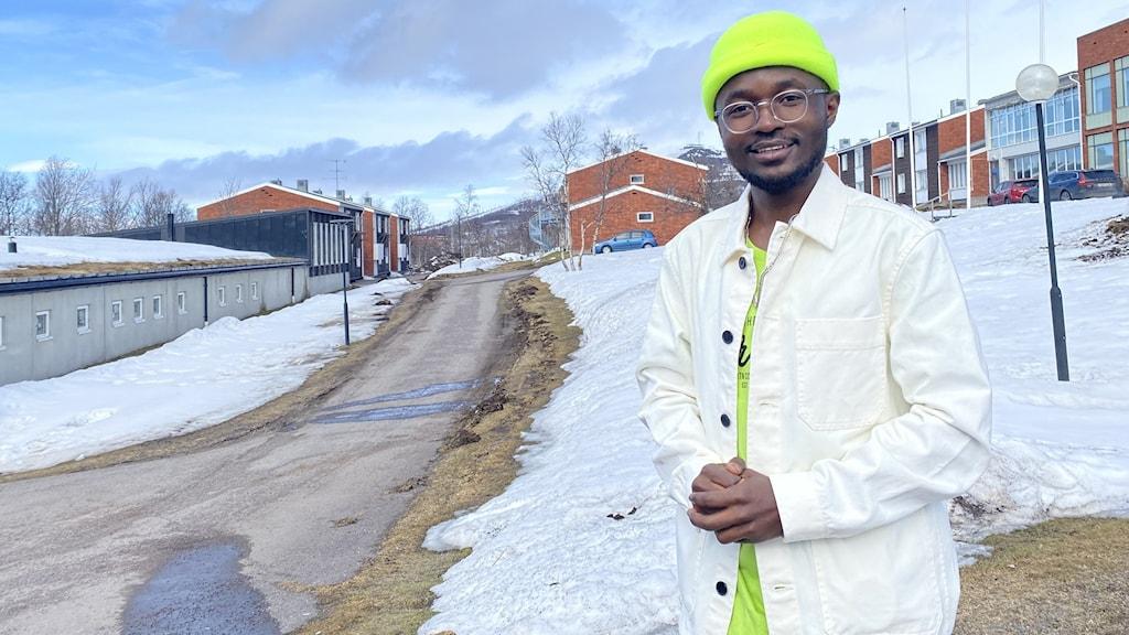 Artisten Lb Penuel i Kiruna.