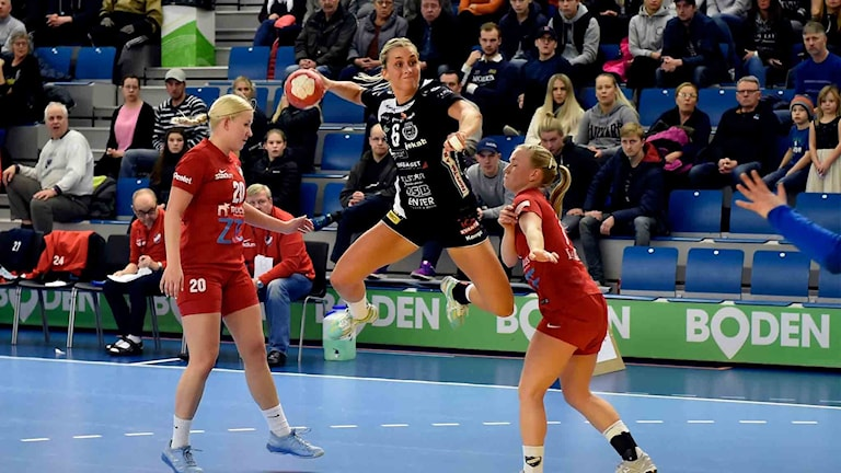 Emmy Nordmark, Boden Handboll mot IFK Helsingfors