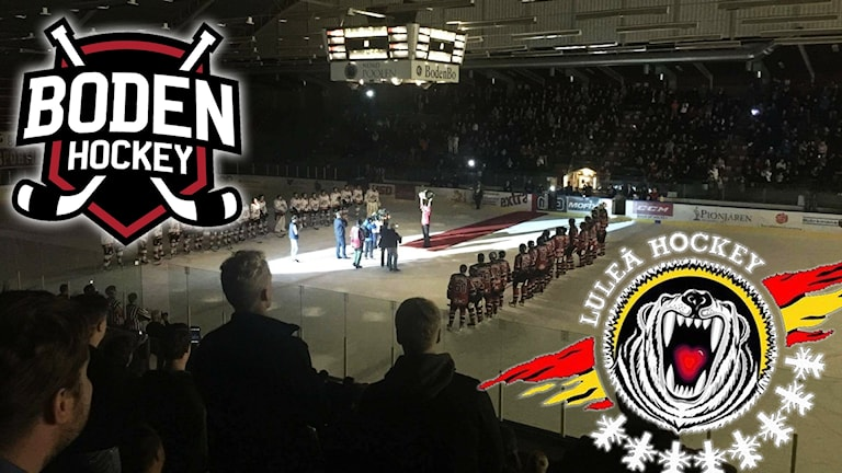 Bodens HF möter Luleå Hockey i Björknäshallen.