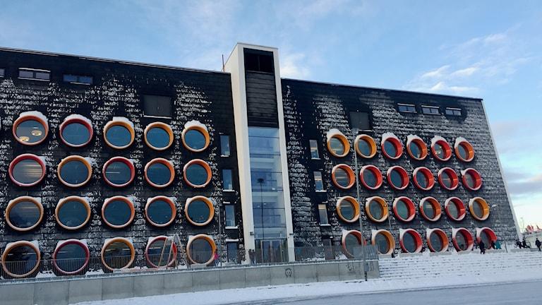 Missnöje på Nya Raketskolan i Kiruna.