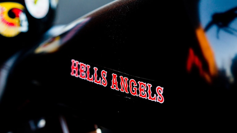 MC-klubben Hells Angels logga.