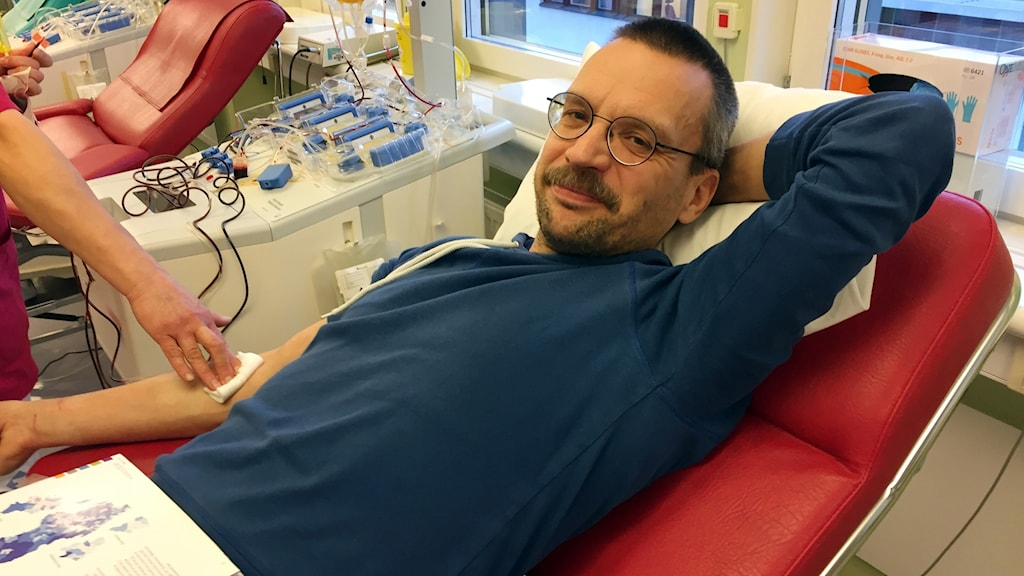 Robert Lundqvist, blodgivare