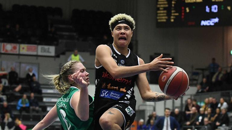 Luleå Basket Natisha Hiedeman