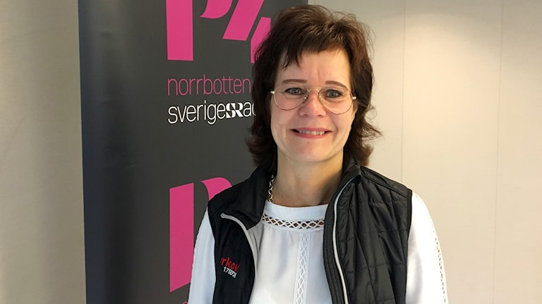 Åsa Björkman, projektledare för kyrkovalet i Luleå stift.