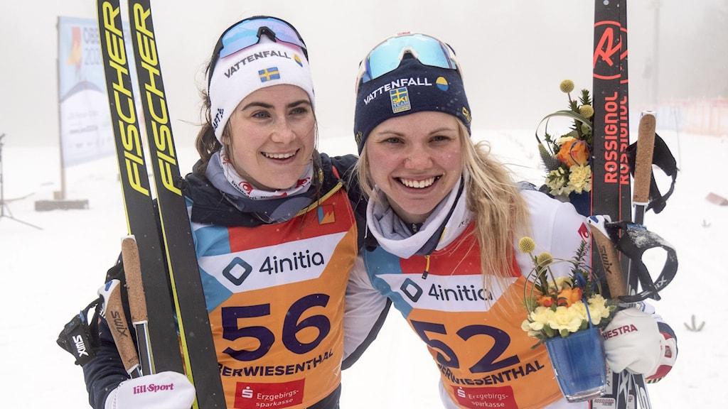 Ebba Andersson och Emma Ribom