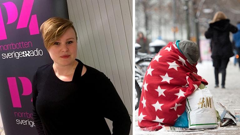 Till vänster Anneli Danielsson, samordnare för Läkare i världen i Luleå.