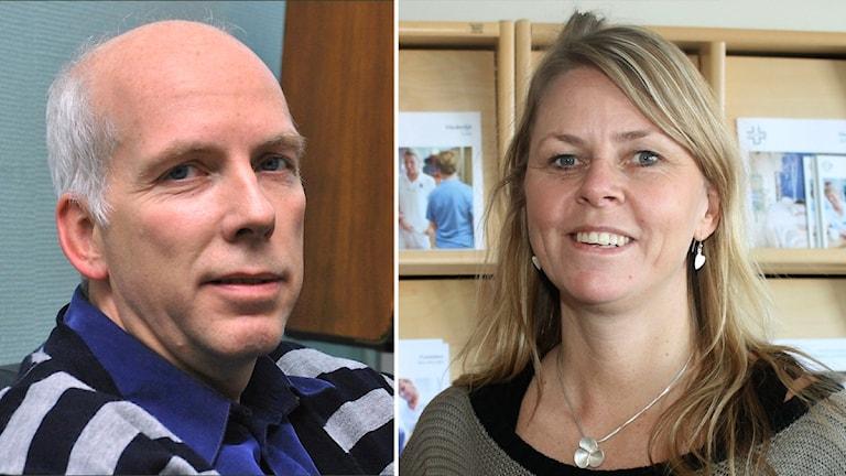 Anders Öberg (S) och Erica Ohlsson.