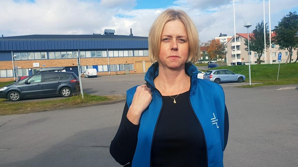 Terese Drugge, Vårdförbundet Norrbotten i Kiruna.