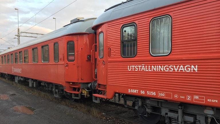 Trafikverkets informationståg har rullat från Malmö i söder och rullar vidare från Luleå till Kiruna.